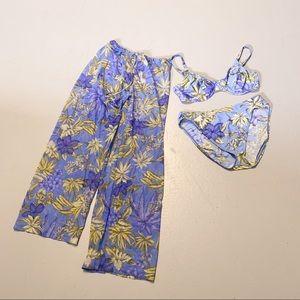 Vintage   90s   high waisted bikini set